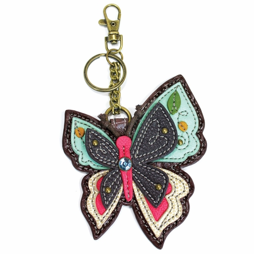 New Butterfly Key Fob/Coin Purse