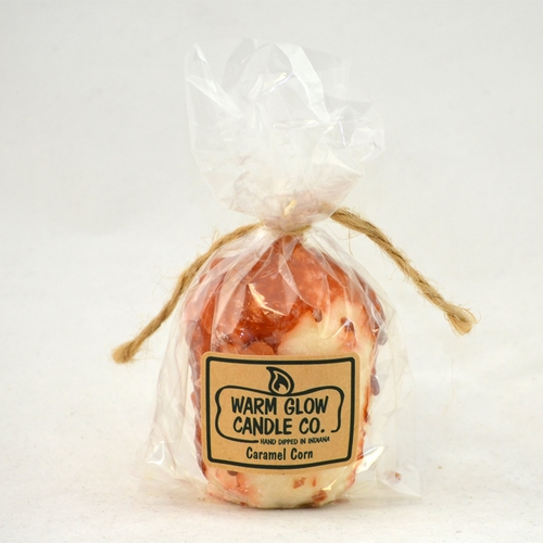 Caramel Corn Oversized Votive by Warm Glow Candles