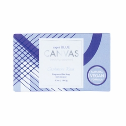 Cashmere Rain 6.5 oz. Canvas Collection Bar Soap by Capri Blue | Bath & Body Closeouts