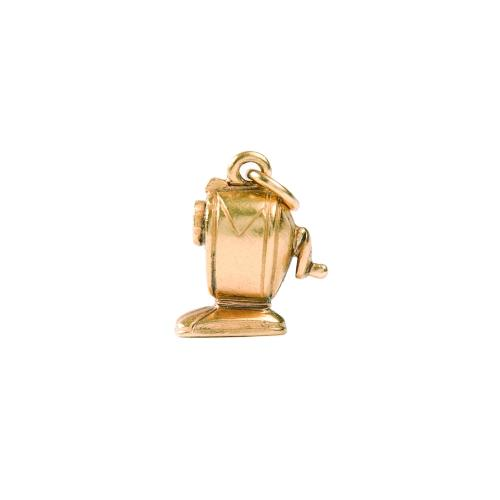 Charm Gold Pencil Sharpener by Beaucoup Designs