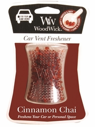 Cinnamon Chai WoodWick Car Vent Freshener | WoodWick Fragrance Of The Month