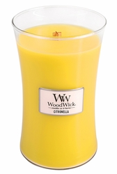 Citronella WoodWick Candle 22 oz.   Woodwick Candles 22 oz.