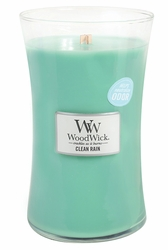 Clean Rain WoodWick ODOR NEUTRALIZING Candle 22 oz. | WoodWick Odor Neutralizing Collection