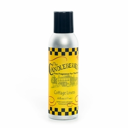Cottage Linens 6 oz. Room Spray by Candleberry | 6 oz. Room Sprays by Candleberry