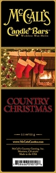 Country Christmas McCall's Candle Bar | Candle Bars by McCall's
