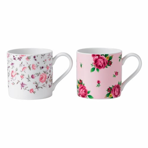 New Country Roses Tea Party Rose Confetti & NCR Mug Set by Royal Albert - Special Order