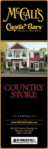 Country Store McCall's Candle Bar