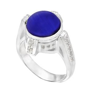 Crystal Four Post CZ Ring - KR033 - Size 8 Kameleon Jewelry {Legacy}