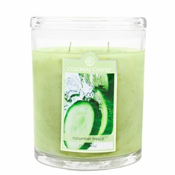 Cucumber Fresca 22 oz. Oval Jar Colonial Candle