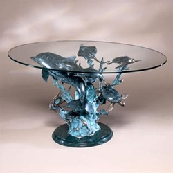 Dolphin Seaworld Coffee Table - SPI Home (Special Order)