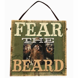 Duck Commander Fear the Beard Sign