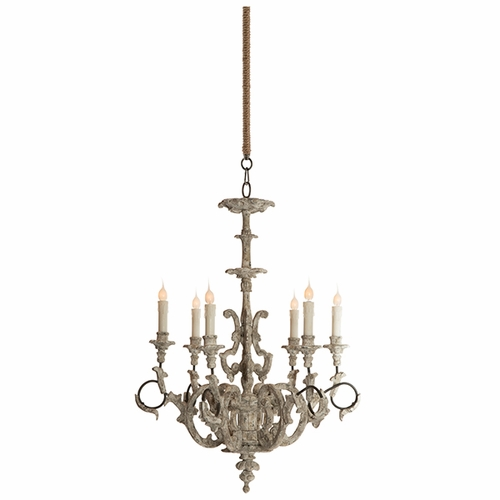 Ebby High French Chandelier by Aidan Gray