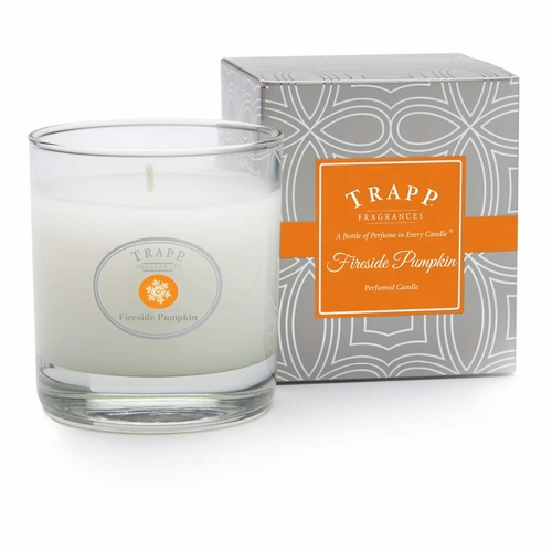 *Fireside Pumpkin Seasonal 7 oz. Large Poured Trapp Candle
