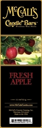 Fresh Apple McCall's Candle Bar | Candle Bars by McCall's