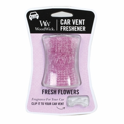 Fresh Flowers WoodWick Car Vent Freshener | Discontinued & Seasonal WoodWick Items!