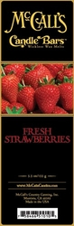 Fresh Strawberries McCall's Candle Bar | Candle Bars by McCall's