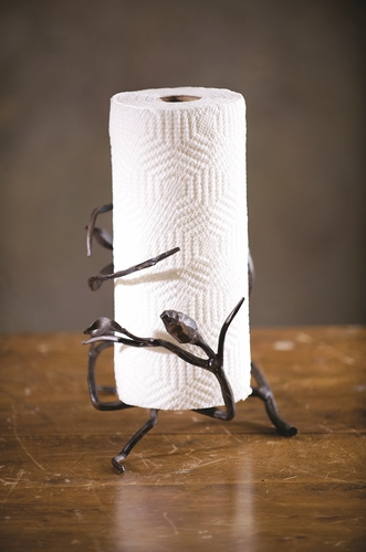 Fruitwood Paper Towel Holder by Bella Toscana