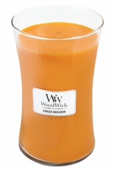 Ginger Macaron WoodWick Candle 22 oz.   Woodwick Candles 22 oz.