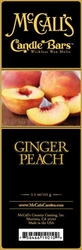 Ginger Peach McCall's Candle Bar | Candle Bars by McCall's