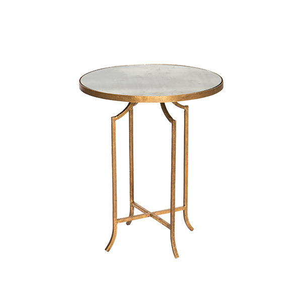 Glass top fuji occasional table by aidan gray for Glass top occasional tables