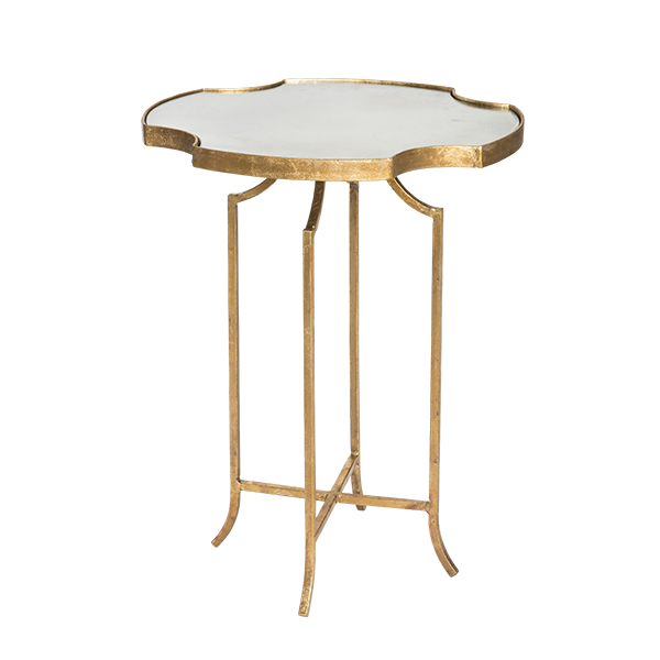Glass top het lo occasional table by aidan gray for Glass top occasional tables