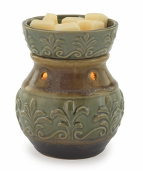 Green Fleur De Lis Illumination Fragrance Warmer