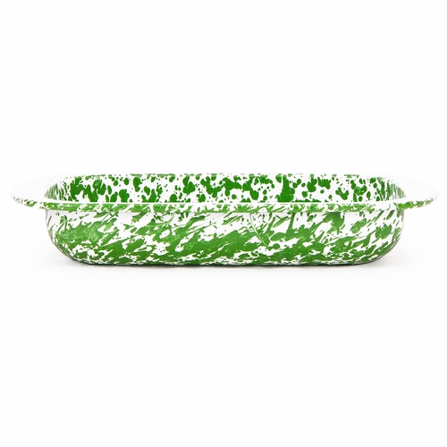 New Green Swirl Baking Pan by Golden Rabbit