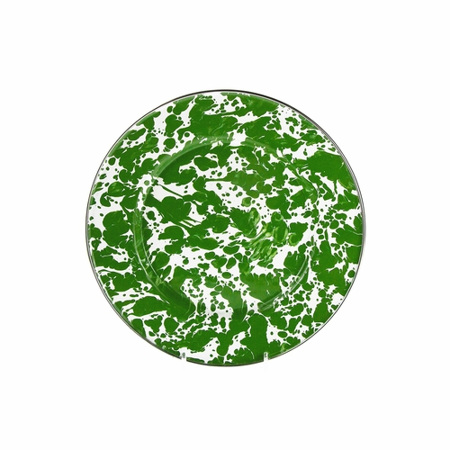 New Green Swirl Sandwich Plate by Golden Rabbit