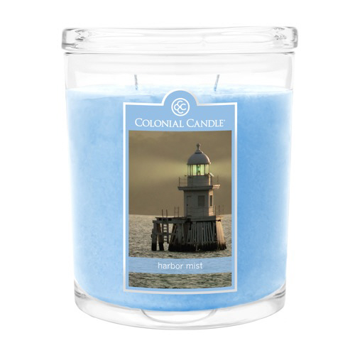 Harbor Mist 22 oz. Oval Jar Colonial Candle