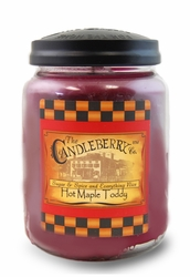 Hot Maple Toddy 26 oz. Large Jar Candleberry Candle