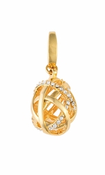 Infinity Bauble Charm - Style Spartina 449