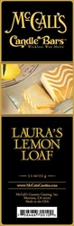 Laura's Lemon Loaf McCall's Candle Bar | Candle Bars by McCall's