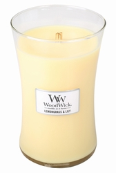 Lemongrass & Lily WoodWick Candle 22 oz. | Jar Candles - Woodwick Fall & Winter 2015