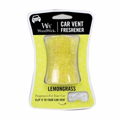 Lemongrass WoodWick Car Vent Freshener | Discontinued & Seasonal WoodWick Items!