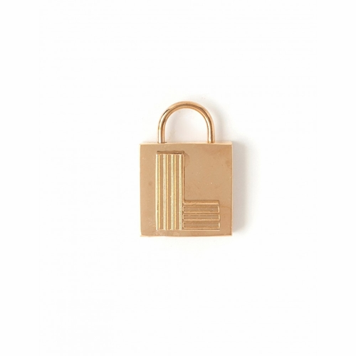 """Letter """"L"""" Padlock Charm - Style Spartina 449"""