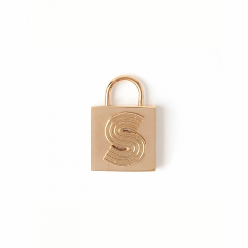 """Letter """"S"""" Padlock Charm - Style Spartina 449"""
