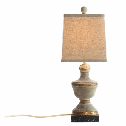Light Gray Truro Lamp by Aidan Gray