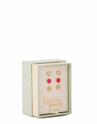 Love Hoo Oh So Witty Earring Box Set by Spartina 449