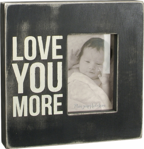 Love You More Box Frame - Primitives by Kathy