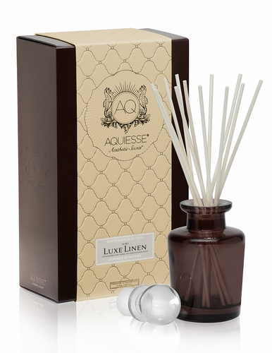 Luxe Linen Reed Diffuser Set by Aquiesse