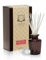 Mandarin Tea Reed Diffuser Set by Aquiesse | Reed Diffuser Sets by Aquiesse