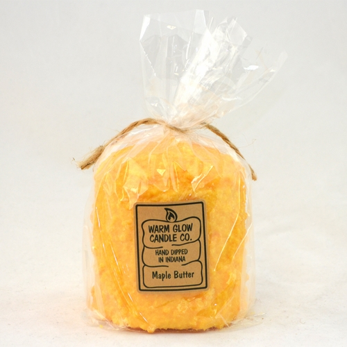 Maple Butter Hearth Candle by Warm Glow Candles