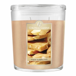 Maple Butterscotch 22 oz. Oval Jar Colonial Candle