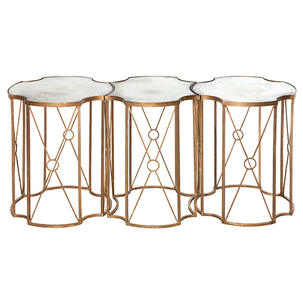 Marline tri coffee table by aidan gray for Table 6 in as 3725