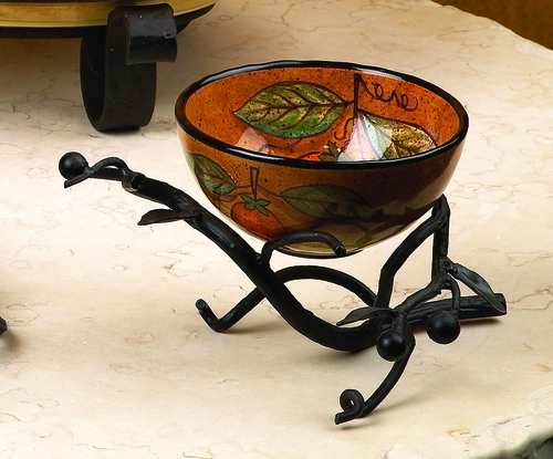 Mercato Ceramic Round Bowl by Bella Toscana