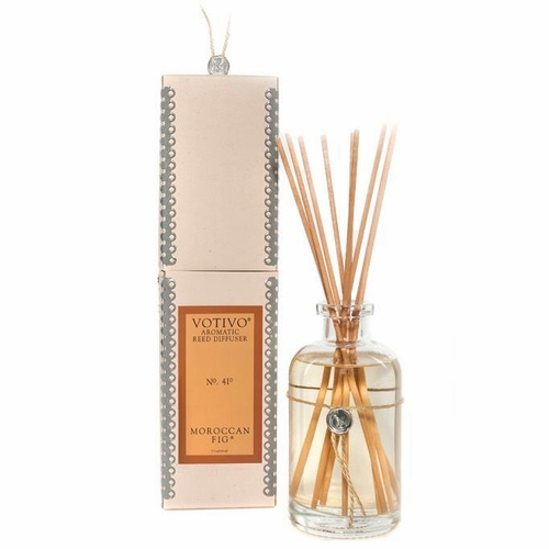 Moroccan Fig Aromatic Reed Diffuser Votivo Candle