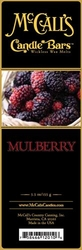 Mulberry McCall's Candle Bar | Candle Bars by McCall's