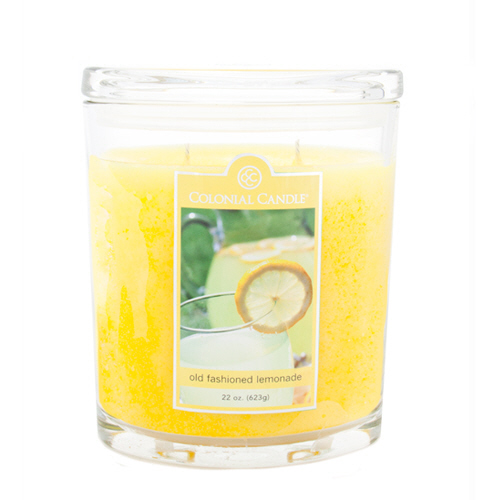 Old Fashioned Lemonade 22 oz. Oval Jar Colonial Candle