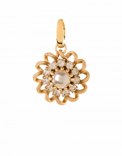 Pearl Lace Flower Charm - Style Spartina 449