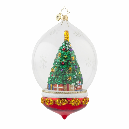 Perfectly Festive Ornament by Christopher Radko